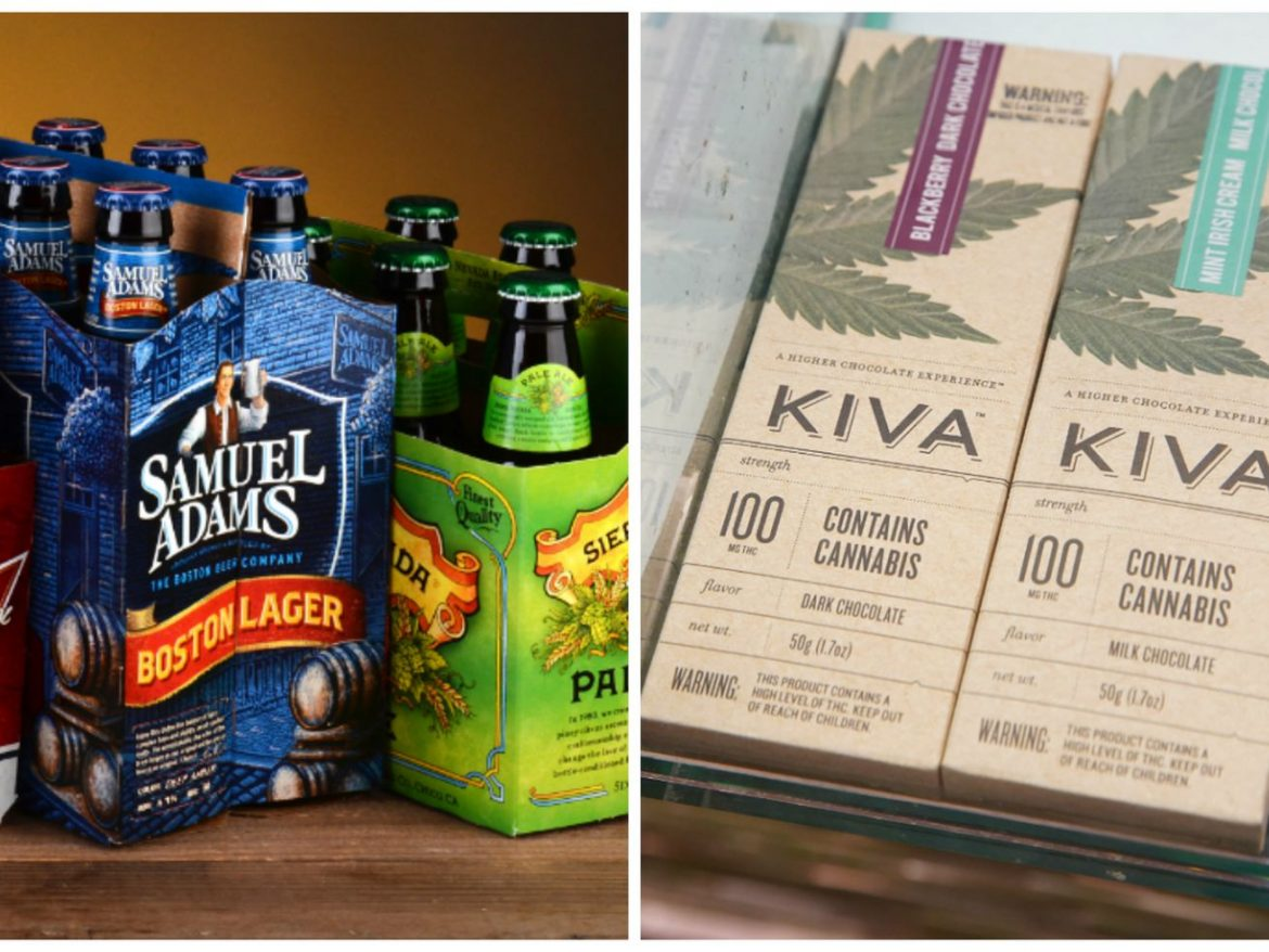 State's weed windfall from taxes rivals booze haul —and could surpass it next year