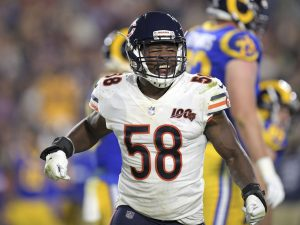 Bears' Roquan Smith misses practice