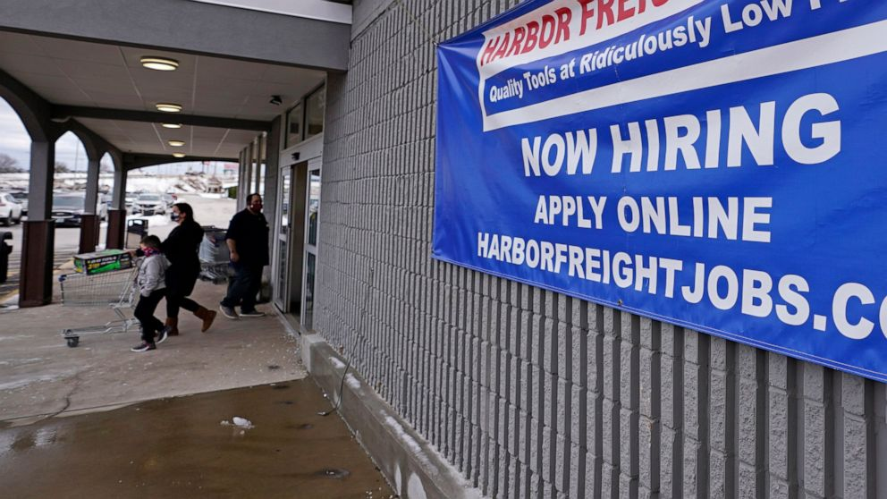Jobless claims down 19,000, still 4 times pre-pandemic level