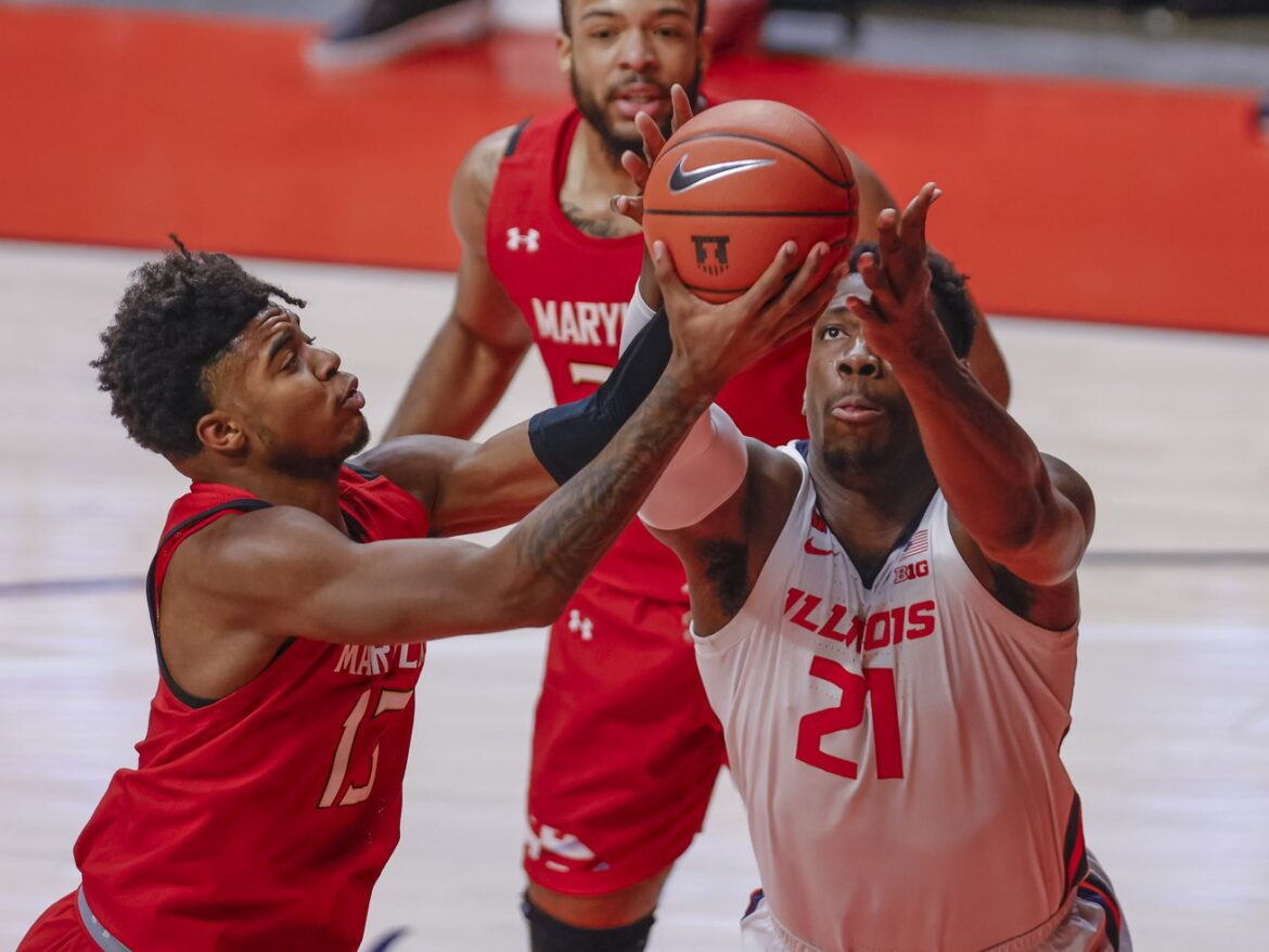 No. 12 Illini stunned at home by Terps