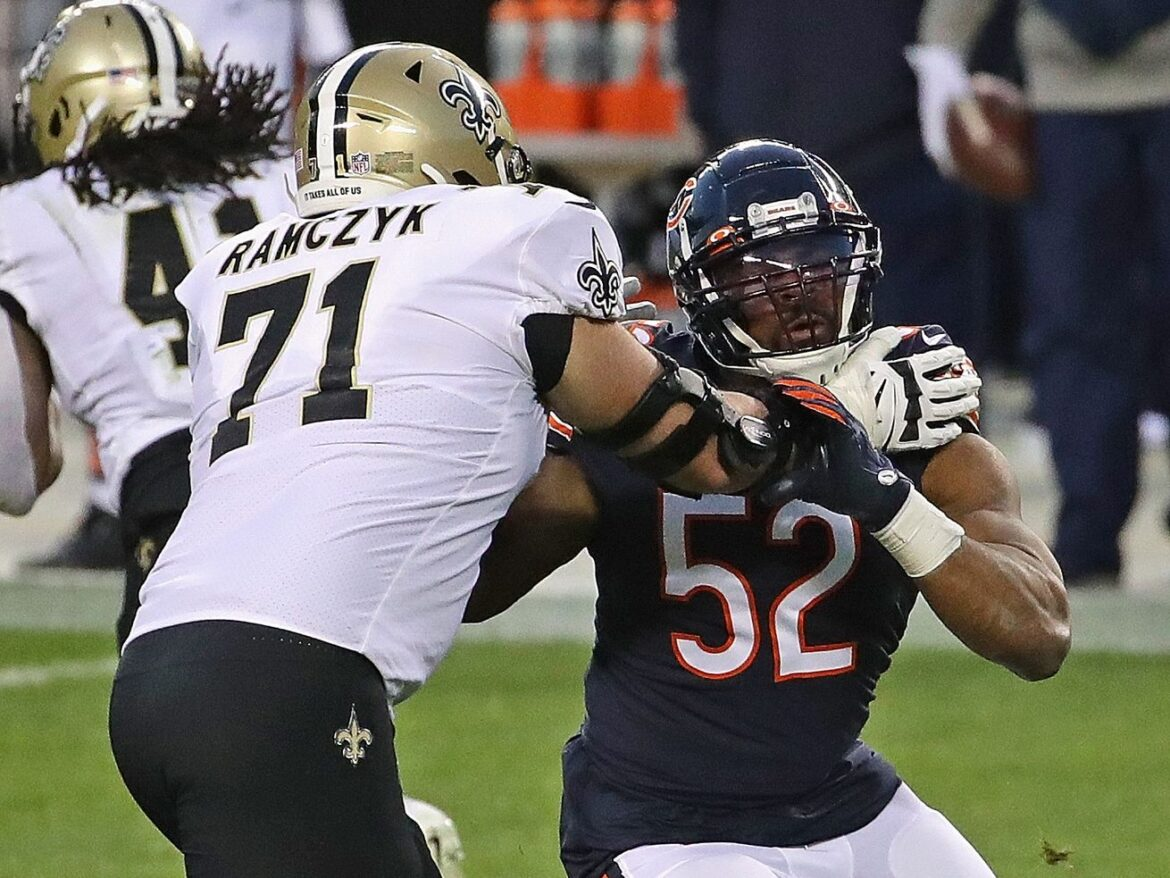 Once a franchise focal point, the Bears' defense is free-falling