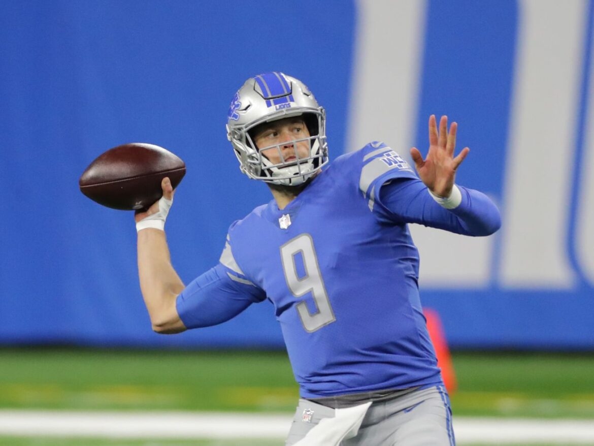 Lions looking into trading QB Matthew Stafford