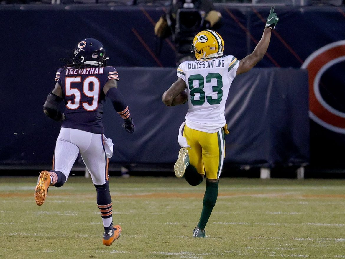 Three takeaways from Bears' loss to Packers