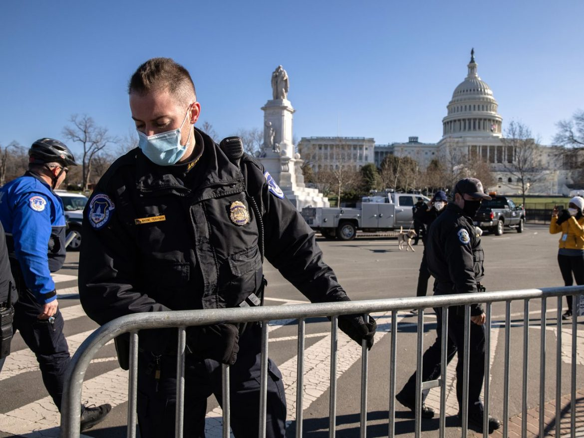 AP Source: Capitol Police chief to resign next week in wake of violent riot at Capitol