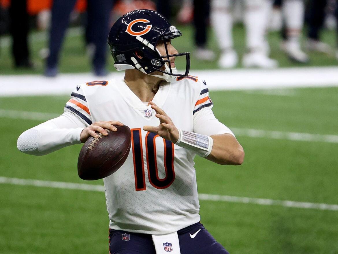 Mitch Trubisky gets engaged to girlfriend Hillary Gallagher