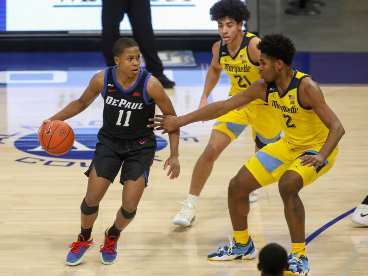 Charlie Moore scores 21 points to carry DePaul past Marquette