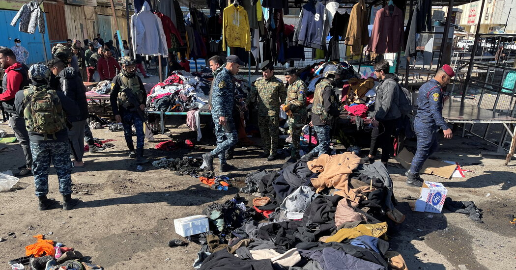 Suicide Bombing in Crowded Baghdad Market Kills at Least 15