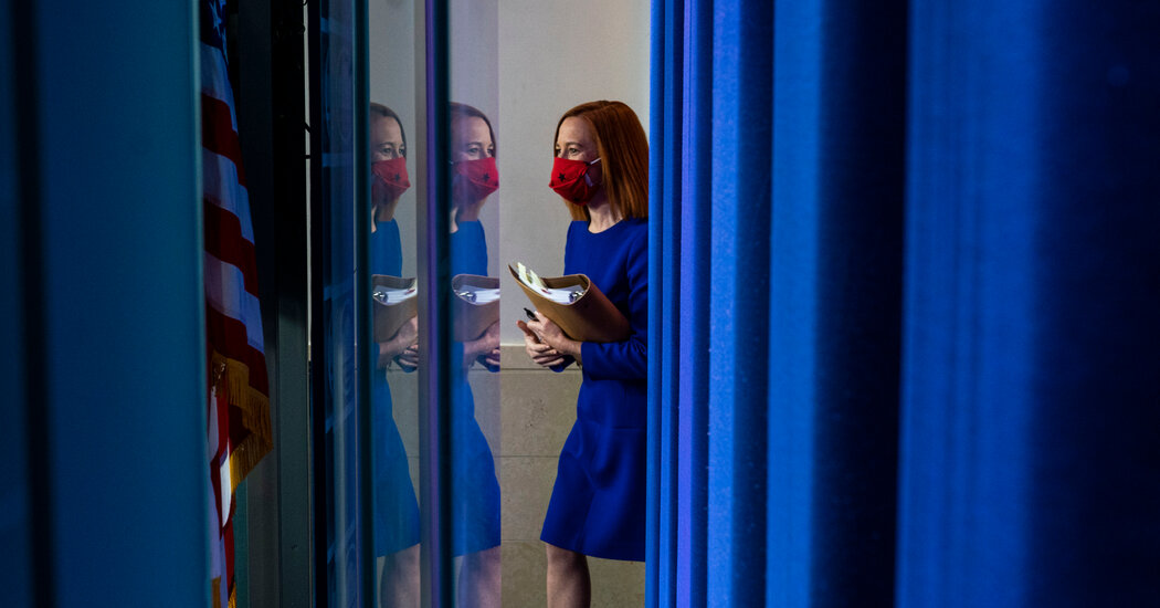 Psaki Tries to Strike a New Tone in the White House Briefing Room