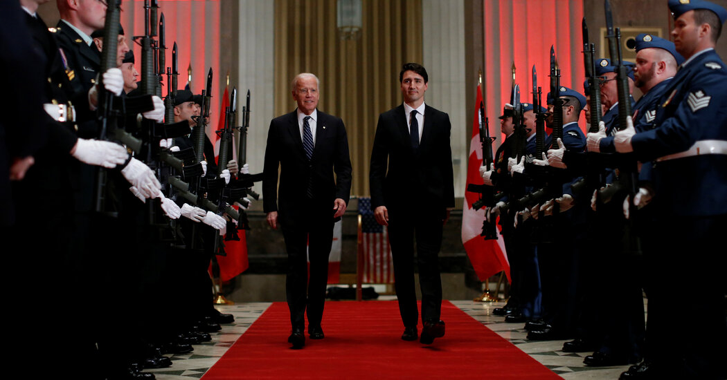 Justin Trudeau to Get Biden's First Official Call to a Foreign Leader