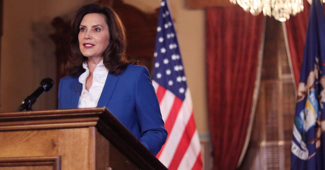 Whitmer pleads with Michigan lawmakers to find common ground amid the pandemic.