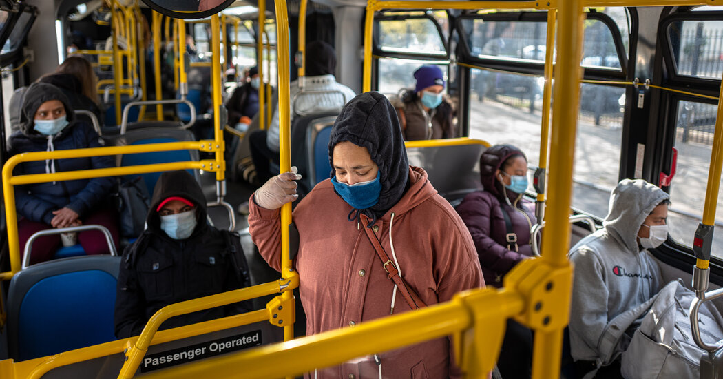 The C.D.C. Issues Mask Mandate for Domestic Travel