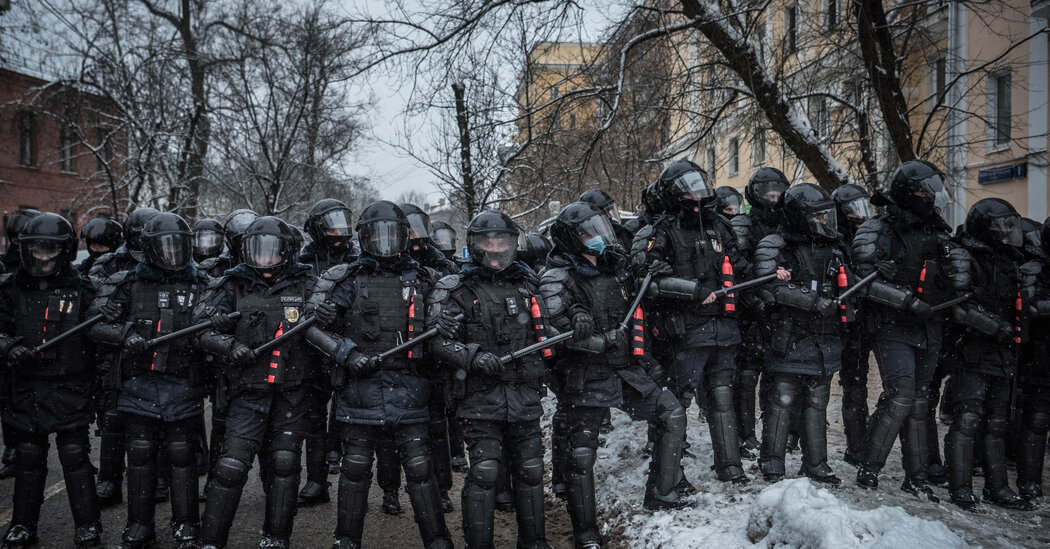 Pictures From Russia Protests