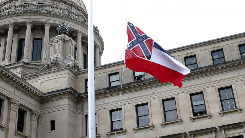 New Mississippi flag without rebel symbol being put into law