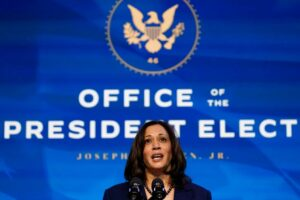 Vice President-elect Harris will be sworn in by Justice Sonia Sotomayor