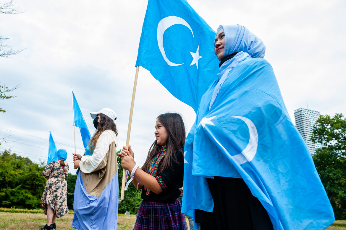Twitter locks Chinese embassy's account over post about Uighur women