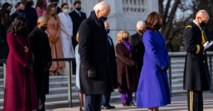 Former Presidents Accompany Biden to Arlington National Cemetery