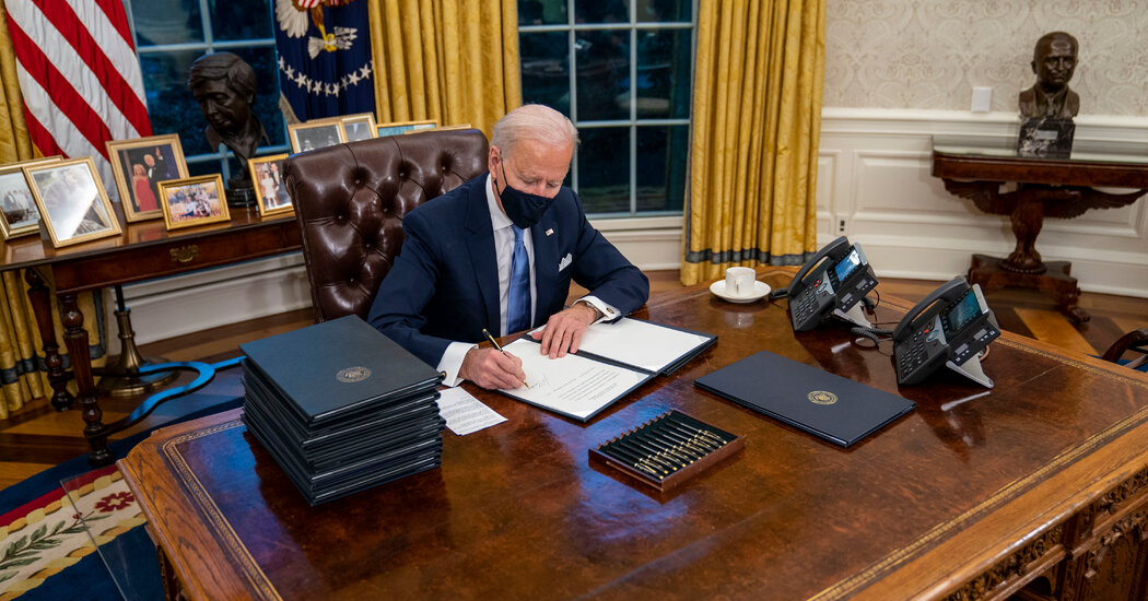 Biden's 17 Executive Orders and Other Directives in Detail
