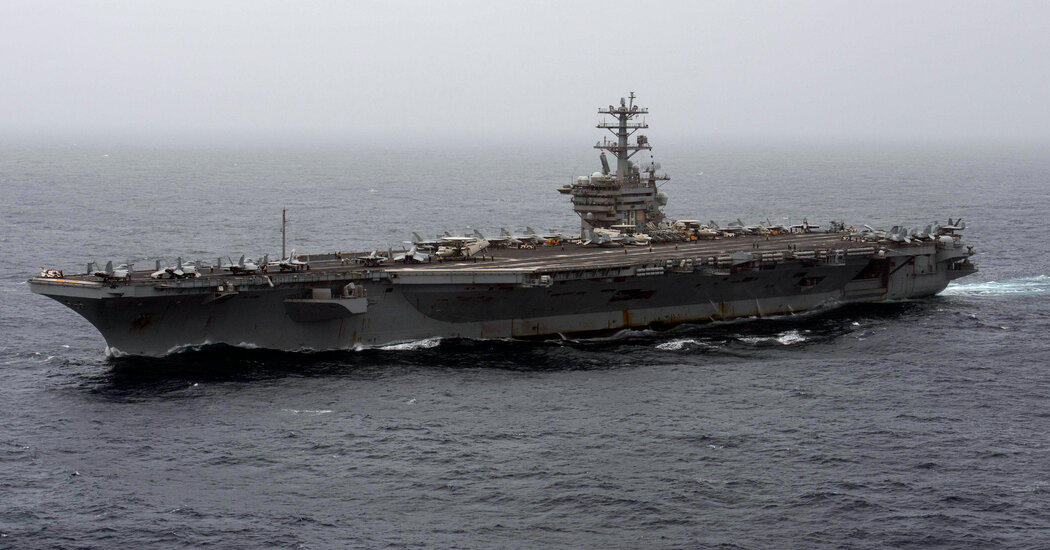 In Reversal, Pentagon Announces Aircraft Carrier Nimitz to Remain in the Middle East