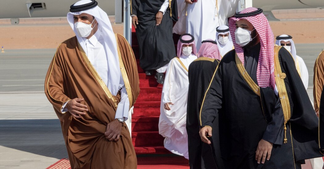 Gulf States Agree to Ease Relations With Qatar