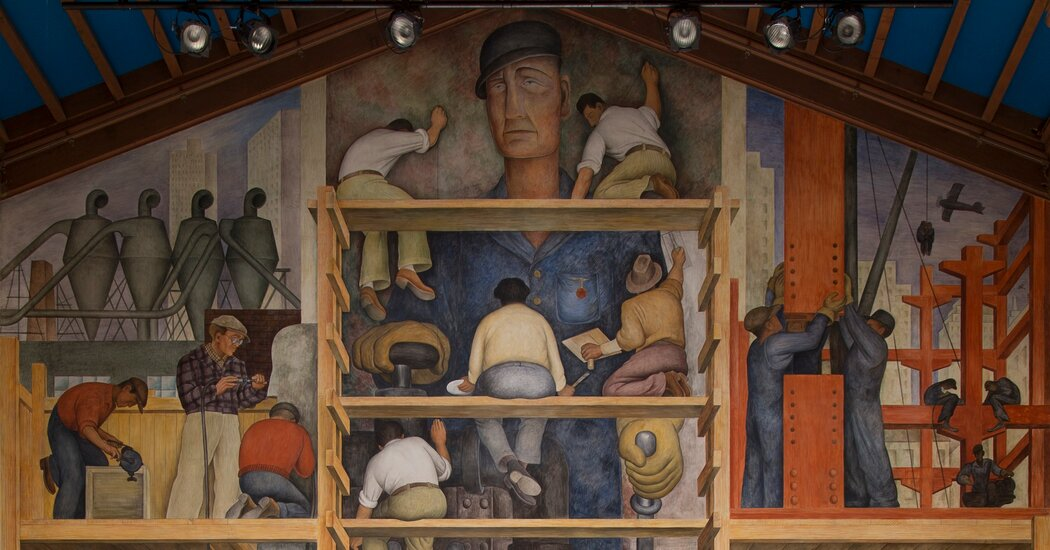 San Francisco's Top Art School Says Future Hinges on a Diego Rivera Mural