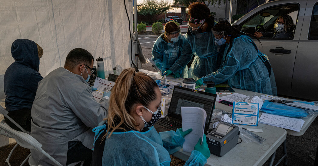 Arizona, Roiled by Covid in Summer, Faces Even Worse Outbreak Now