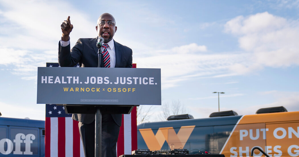 The History Raphael Warnock Is Chasing