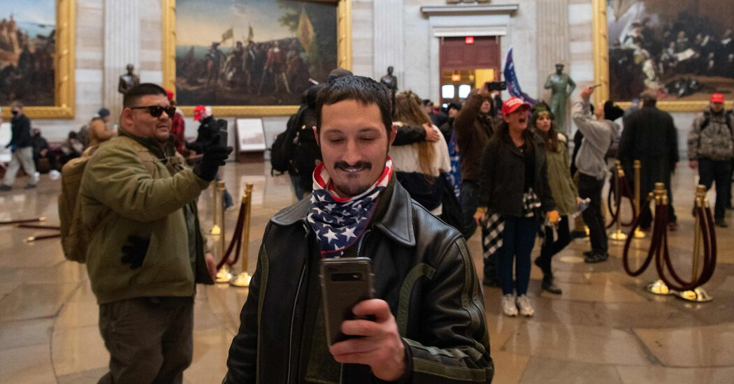 How The Storming of Capitol Hill Was Organized on Social Media