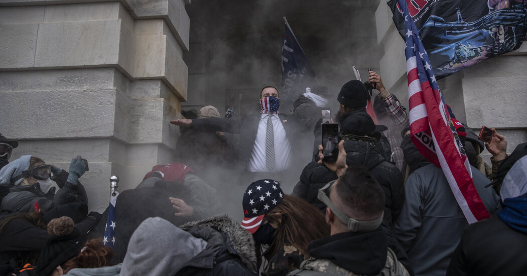 'Our President Wants Us Here': The Mob That Stormed the Capitol