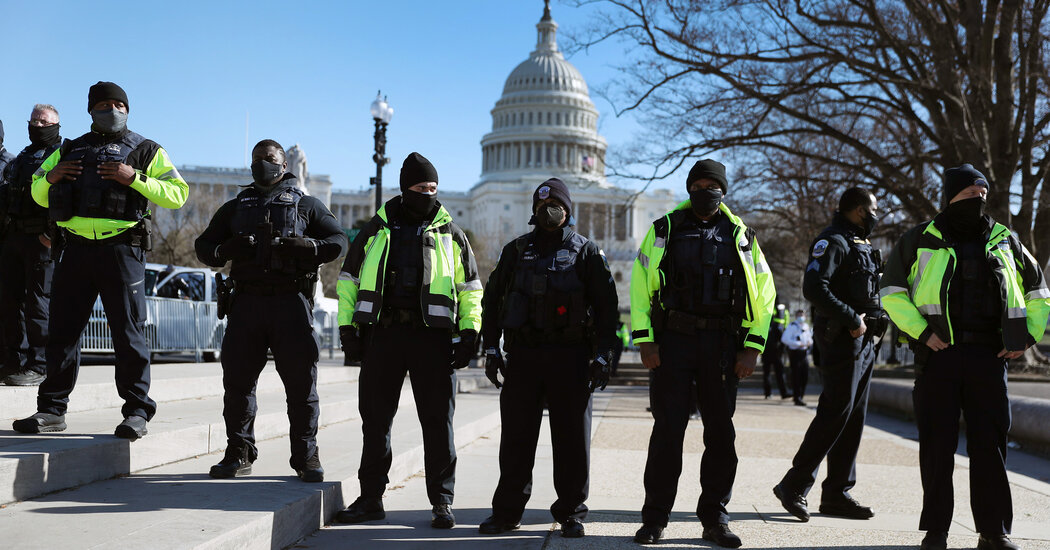 Police Reassess Security for Inauguration and Demonstrations After Capitol Attack