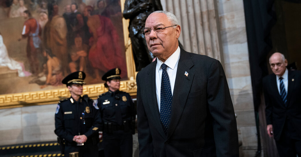 Colin Powell says he 'can no longer call himself a Republican.'