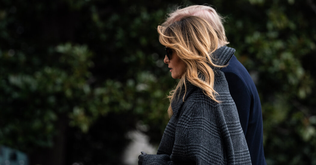 On the Way Out, Melania Trump Denounces Attacks on Her as 'Shameful'