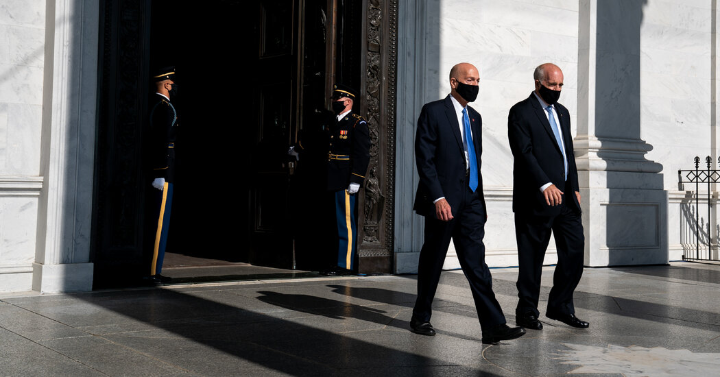Congress's Sergeants-at-Arms Face Scrutiny After Siege