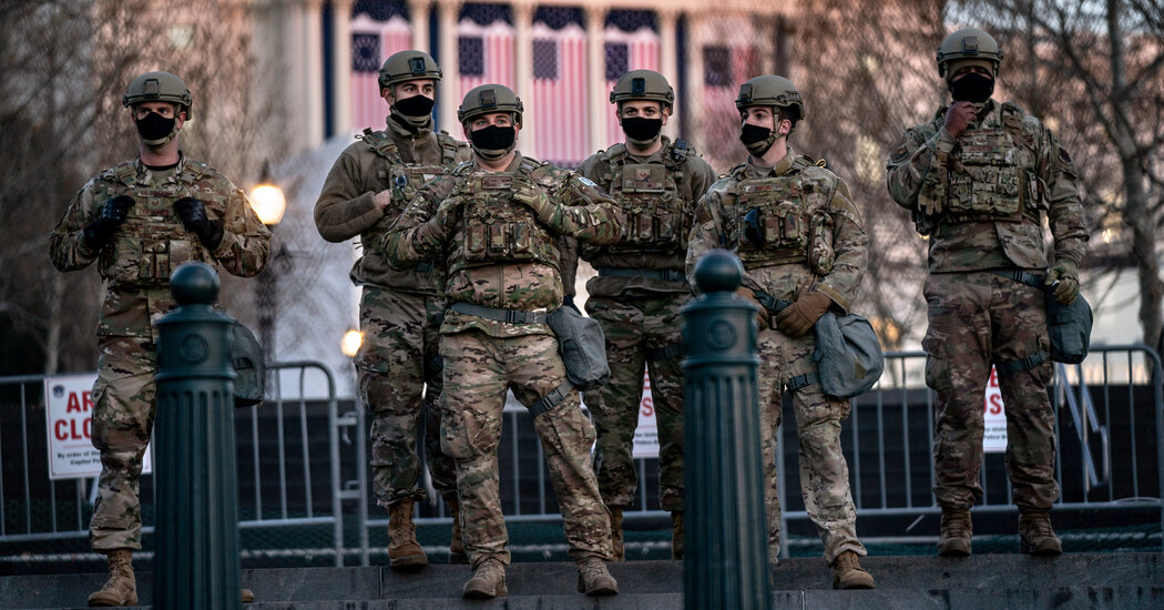 Pentagon to Arm National Guard Troops Deploying to Capitol for Inauguration