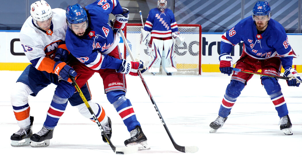 After Much Different Bubble Stays, Rangers and Islanders Start New Year