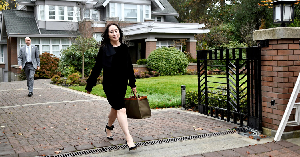 For Huawei Executive Held in Canada, an Opulent Detention