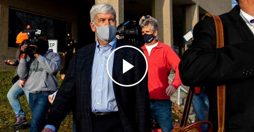 Former Michigan Governor Charged with Neglect in Flint Water Crisis