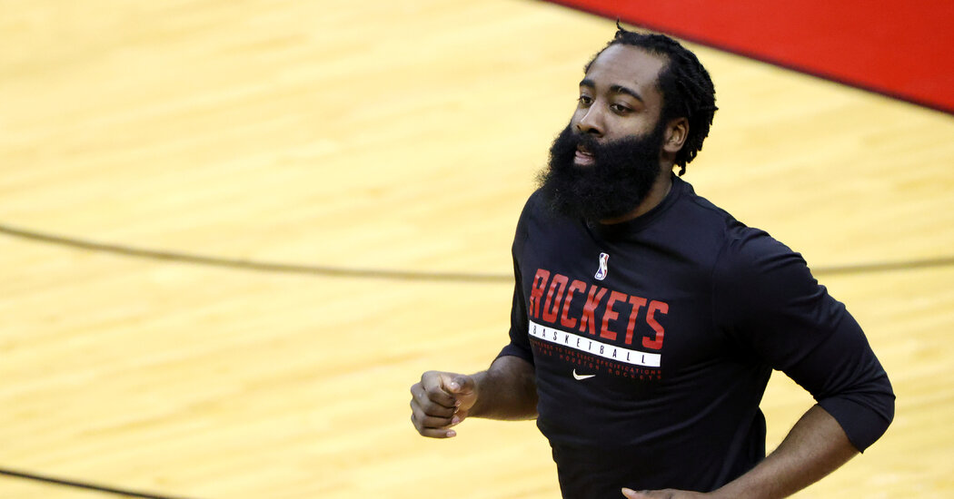 Houston Rockets to Trade James Harden to the Nets