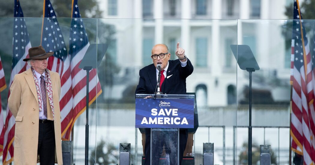 After Second Impeachment, Giuliani Vows to Support Trump