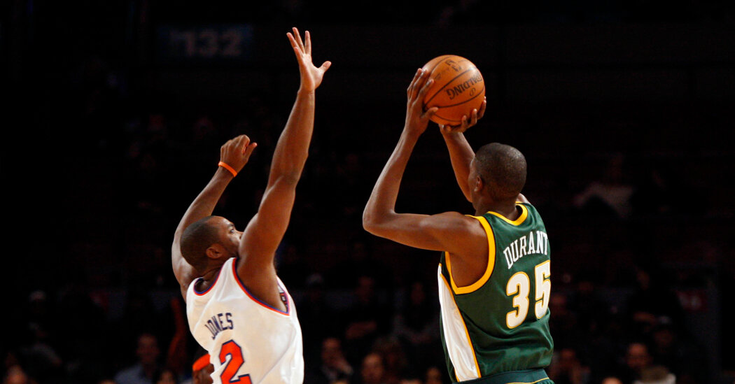 Harden Reunites With Durant, Far from the Hearts of Sonics Fans