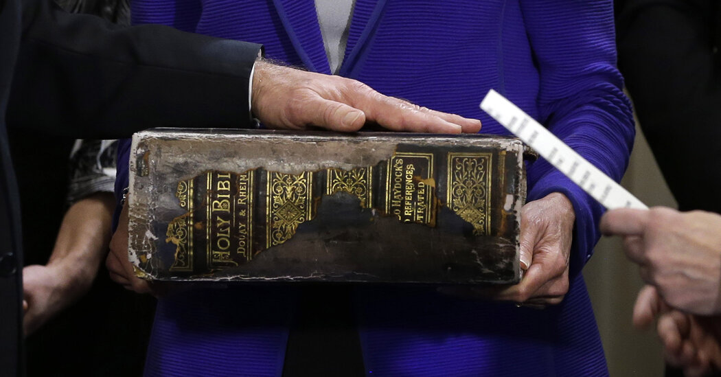 Biden will be sworn in on a Bible that has been in his family since the 1890s.