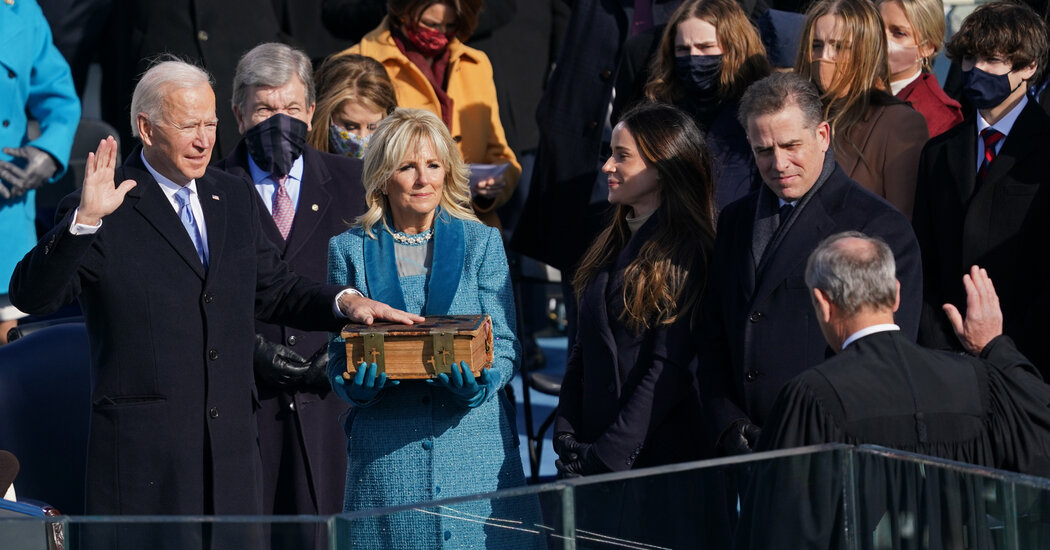 Biden Inaugurated as 46th President