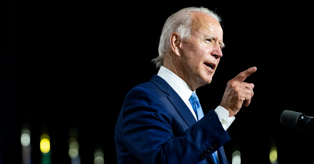 How Joe Biden Became a Steady Hand Amid So Much Chaos