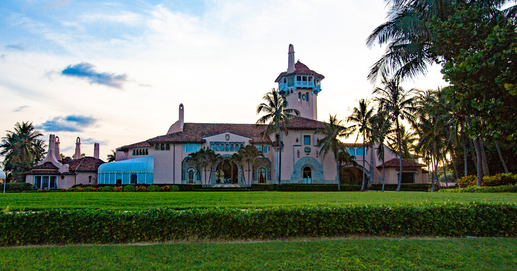 Without Trump, or Masks, Mar-a-Lago Partied On
