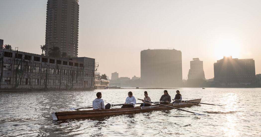 Rowing the Nile: A Soothing Respite in a Chaotic Metropolis