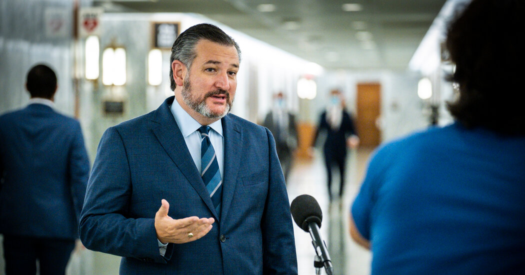 Once a Foe of Trump, Cruz Leads a Charge to Reverse His Election Loss