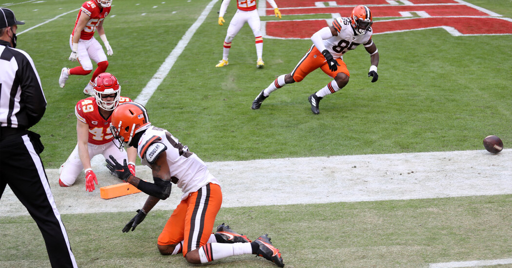 The Browns' Fumble for a Touchback Prompted Reaction to Controversial Rule