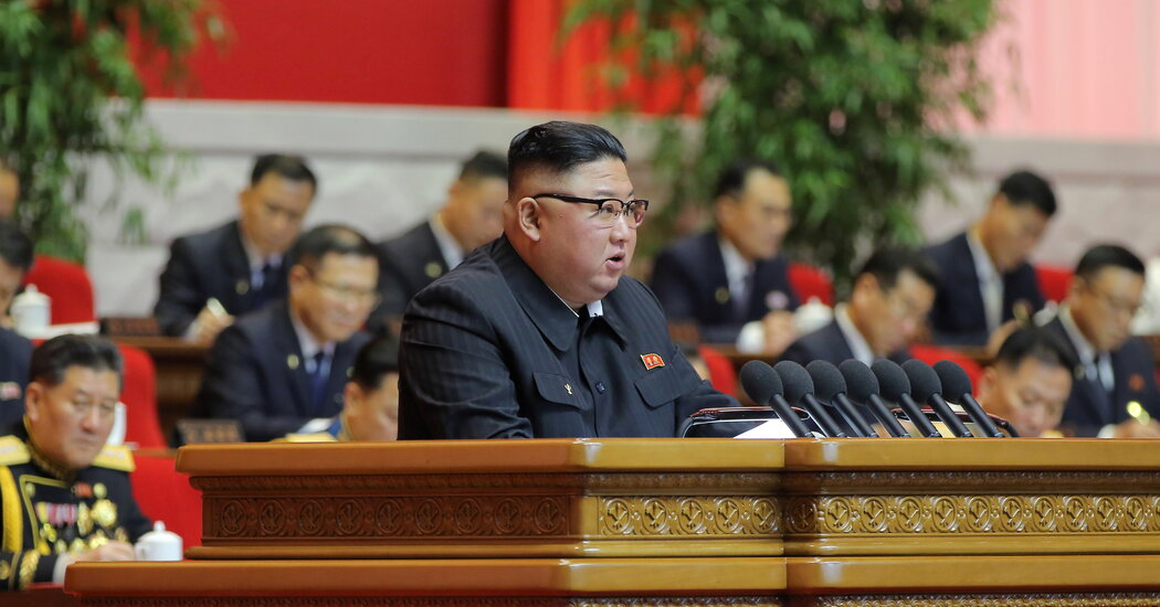 Kim Jong-un Opens Party Congress With Admission of Failures in North Korea