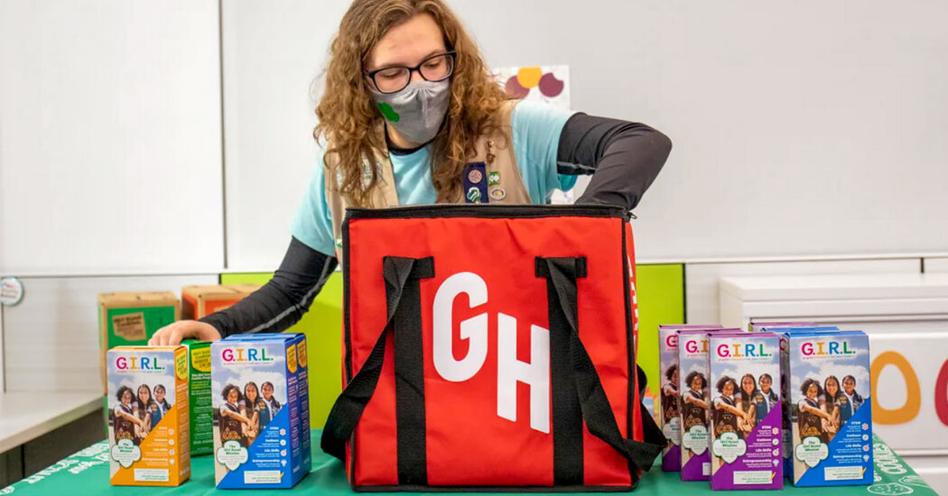 Grubhub Will Deliver Girl Scout Cookies Amid the Pandemic