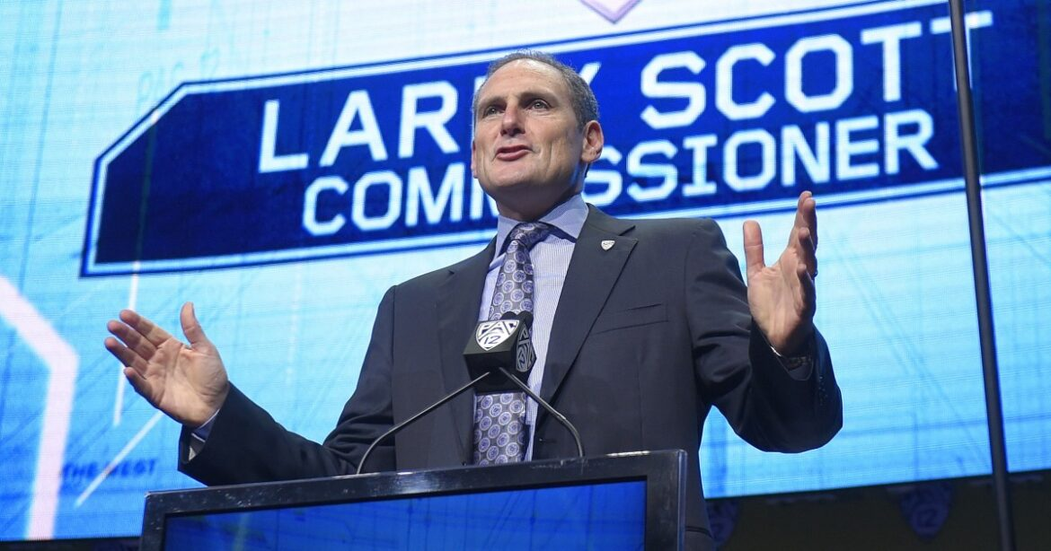 Pac-12 Commissioner Larry Scott to step down at end of June