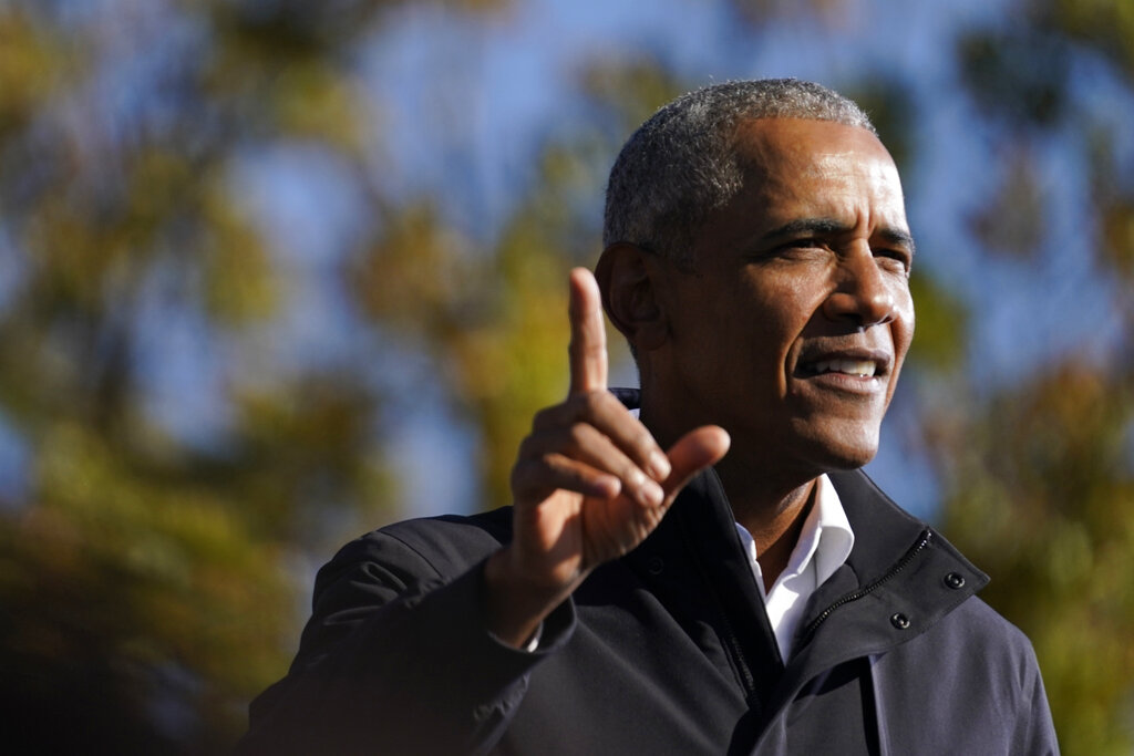 Obama echoes Biden remarks that police response to Capitol riots would have been harsher with BLM